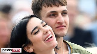 Dua Lipa & Anwar Hadid CAUGHT Packing On PDA!