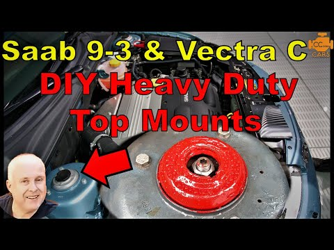 UPRATED Saab 9-3 Front Top mounts | EASY make your own