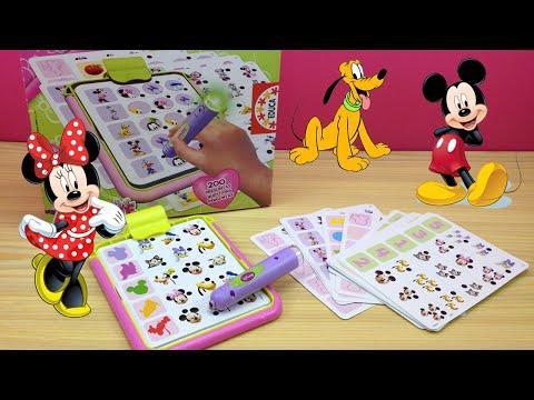 Juego para niños Conector Junior Minnie Disney de EDUCA | Juego educativo para niños