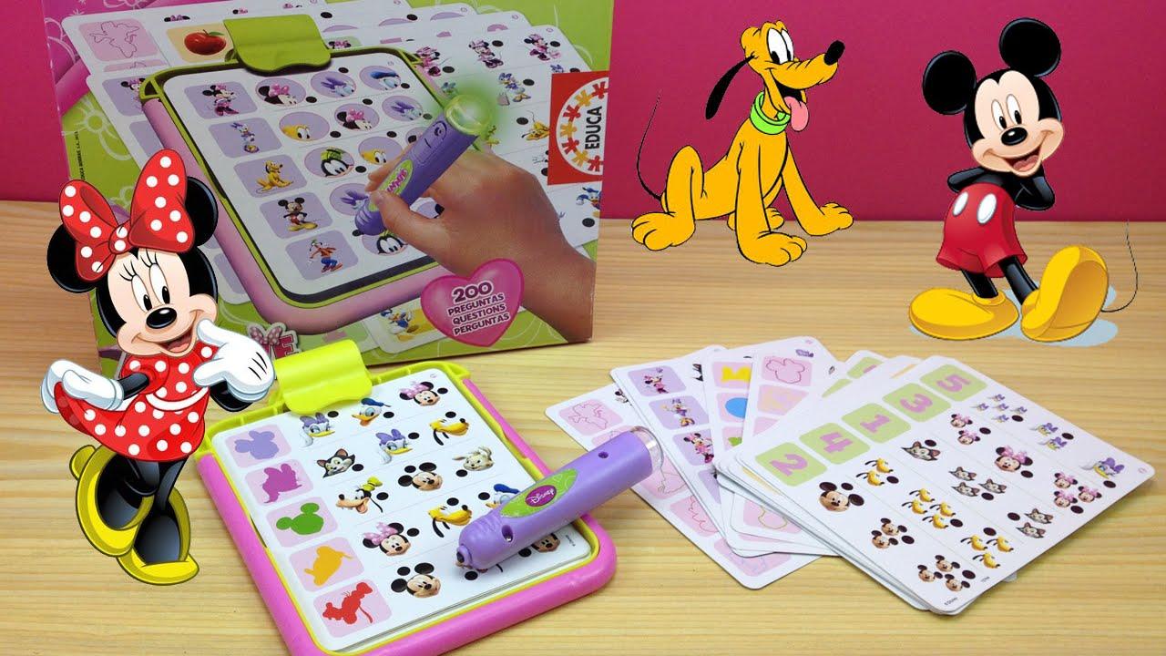 Juego Para Ninos Conector Junior Minnie Disney De Educa Juego