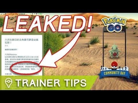 NEW BEST ATTACKER? LARVITAR COMMUNITY DAY MOVE LEAKED
