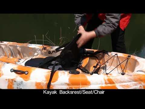 Part10:Aluminum Alloy Bar Rack Fixing Mount for fishing and kayak