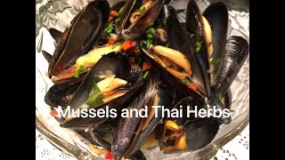 How to cooked delicious! Mussels with Thai Herbs. Very Easy and Simple  Aroma & taste Amazing...