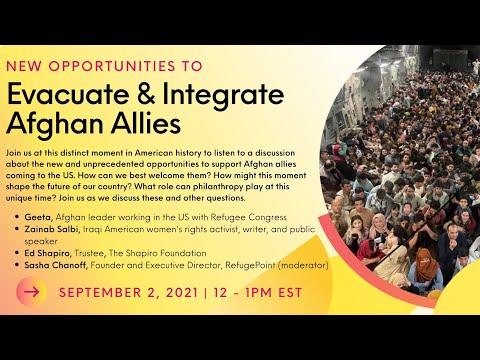 Evacuate & Integrate Afghan Allies
