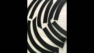 Fiat Doblo 2010 Накладки на арки(Пластиковая защита., 2015-09-30T11:56:37.000Z)
