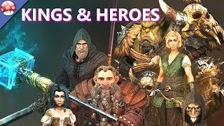 Kings and Heroes Gameplay (PC)