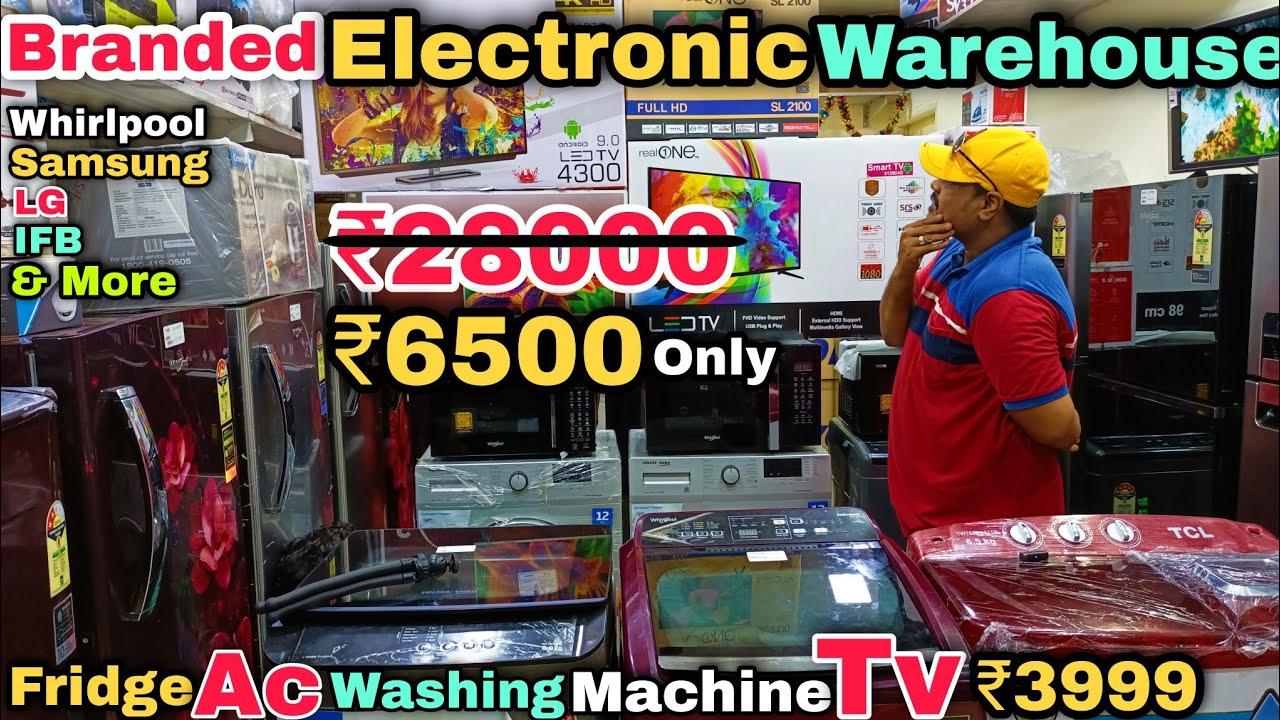 குறைந்த விலையில் Washing Machine, Ac, Fridge, Tv Branded Home Appliances || Direct Warehouse Sale ||