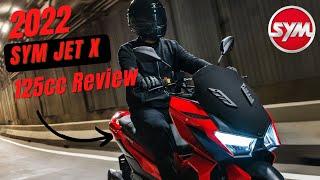 The New SYM Jet X 125cc Scoote…