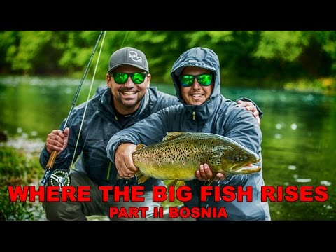 Where The Big Fish Rises, Part II Bosnia, Fly fishing small streams big brown trout dry fly