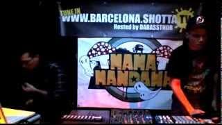 Dub Raider + Yowii + Gamm@ at Shotta TV Barcelona