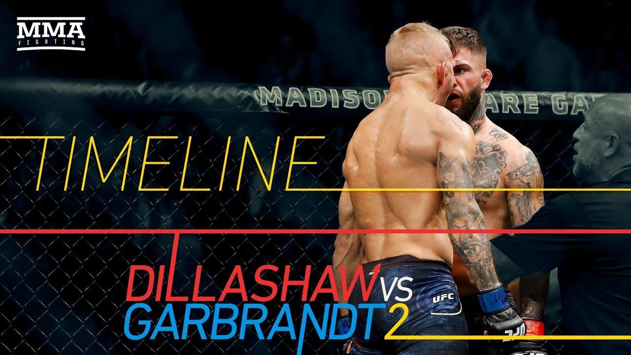 Tj Dillashaw Vs Cody Garbrandt 2