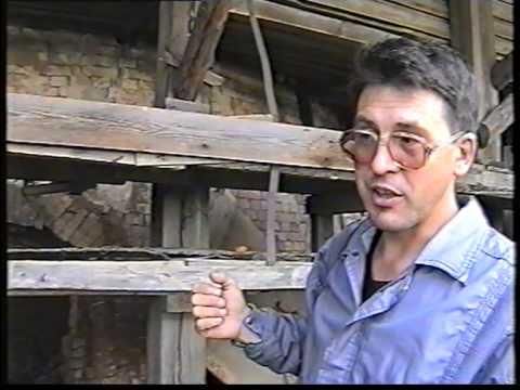 Уржум. Кирпичный завод. Кольцевая печь для обжига.