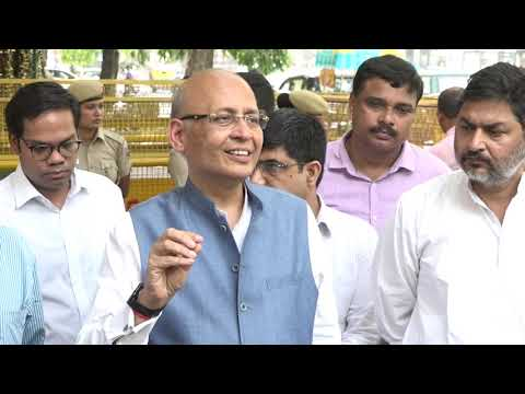Lok Sabha Election 2019 | Abhishek Manu Singhvi addresses media after meeting with EC