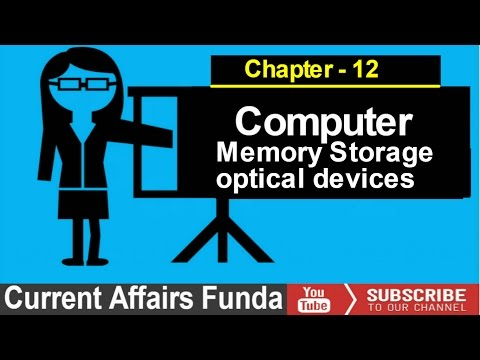 Optical disk and memory storage devices Chapter - 12 (LIC , SBI , IBPS , PO and Clerk)