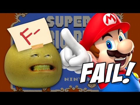 SUPER MARIO BROS 2 FAIL! - Let's Play Annoying Orange w/Grapefruit