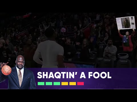 Shaqtin' a fool 1/25/19 they did Charles incredibly dirty at the end, he rolls with it though