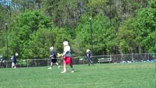 David #19 and Thomas #28 in the East Lake vs. Freedom Lacrosse game
