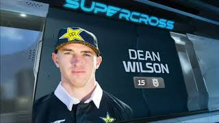 Dean Wilson 2019 Monster Energy Cup Crash