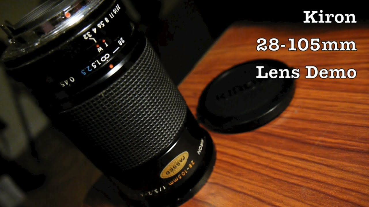 Kiron 28-105mm f/3 2 to f/4 5 Macro Zoom Lens For K Mount Pentax Lens  Cameras or DSLR / w/ Adapter