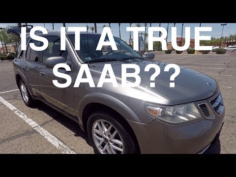 2008 Saab 9-7x Review - A True Saab Or Rebadged Trailblazer?