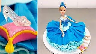 How to Make a Disney Princess Cinderella Doll Cake by Cakes StepbyStep