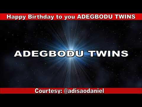 Download ADEGBODU TWINS BIRTHDAY 2019