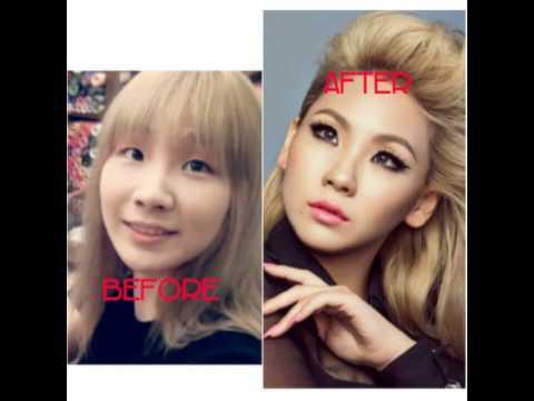 2ne1 No makeup!💖