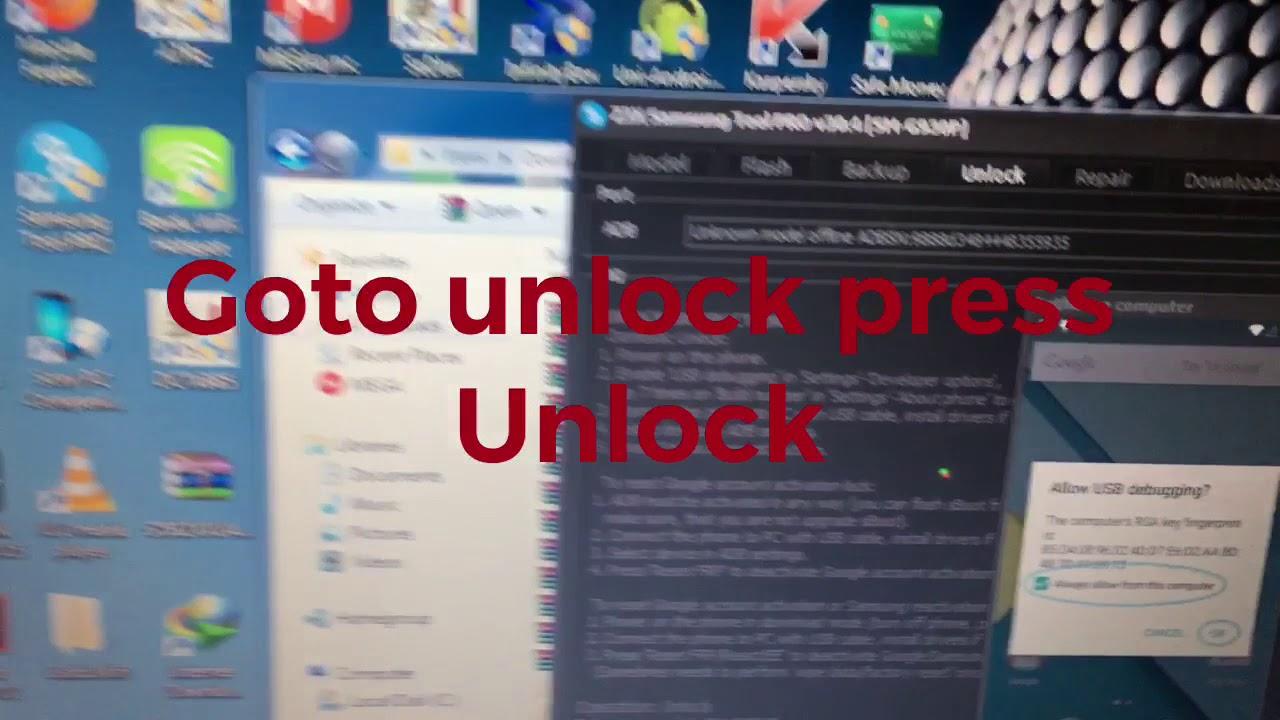 Samsung s8+ g955u unlock method z3x