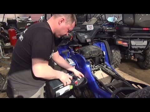Техническое обслуживание квадроцикла CF MOTO X8 .