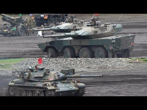 16式機動戦闘車部隊VSアグレッサー部隊!! 富士学校・富士駐屯地 開設64周年記念行事 訓練展示