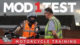 MOD 1 Motorcycle Test and Training! Tips on how to pass your Mod 1!