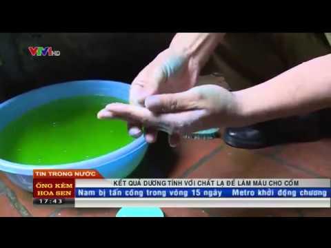 Cốm Hà Nội đang bị đánh mất hình ảnh vì có trộn hóa chất chất màu lạ