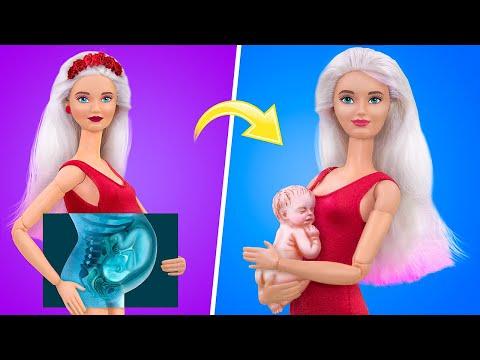 12 лайфхаков и поделок для ЛОЛ и Барби в кукольной больнице