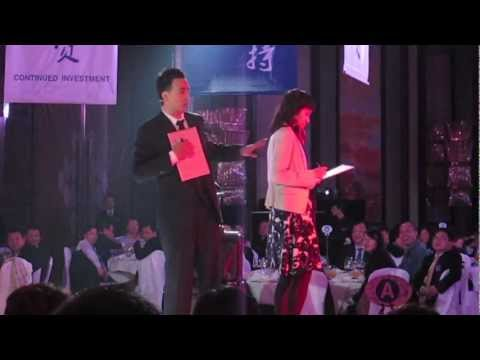 Corporate Entertainer and Mentalist Ferris Yao performing in China