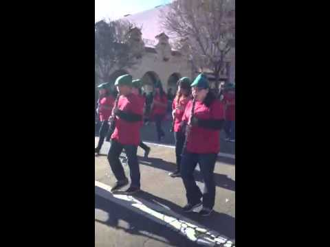 Winters Middle School-Woodland Christmas Parade 2012