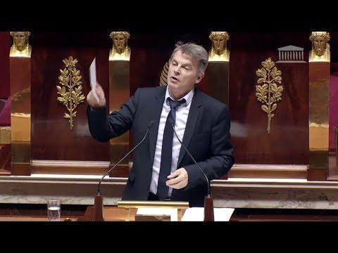 Fabien Roussel raconte en plein hémicycle avoir créé sa propre entreprise offshore