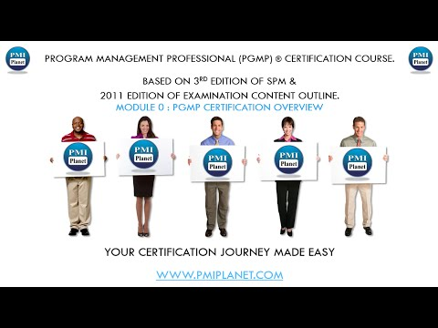 PgMP Program Management Certification Overview. Start Your Application Today