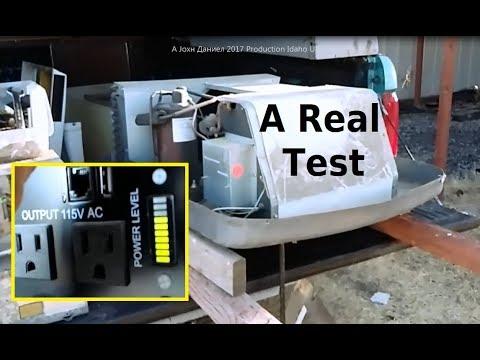 RV Air Conditioner TEST Running off Solar Power & Inverter- info below