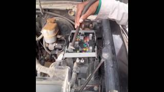 Fuse Box Cleaning