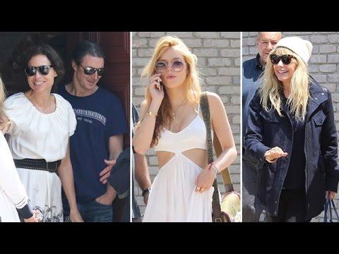 Celebrities Attend Joel Silver's Malibu Party: Bella Thorne, Rosanna Arquette, Minnie Driver
