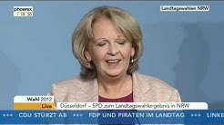 Wahl in NRW: SPD-Spitzenkandidatin Hannelore Kraft zum Wahlausgang
