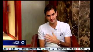 Roger Federer, says the spirit of South Africans makes the country special