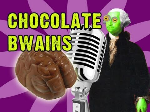 Chocolate Bwains!!! (Chocolate Rain Parody Song)