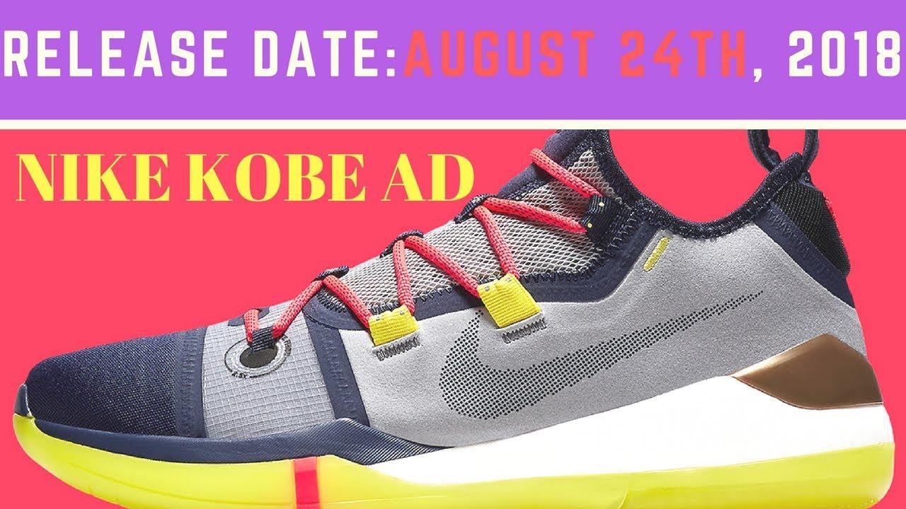 bdbc04b94c902b Kobe Bryant s Next Nike Signature Shoe Releases On Kobe Day - YouTube