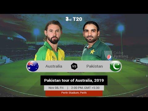 Australia vs Pakistan, 3rd T20I - Live Cricket Score