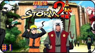 Naruto Ultimate Ninja Storm 2 GAMEPLAY PART 1 EL REGRESO DE NARUTO