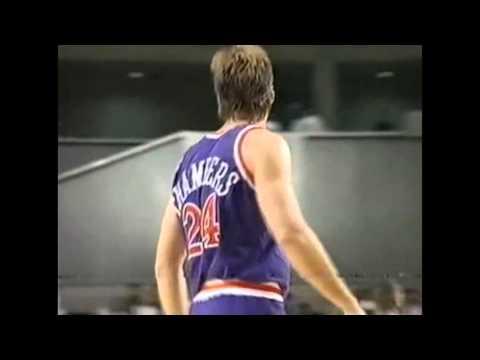 Tom Chambers - Jazz vs Suns - 11/2/90 (Tokyo, Japan)