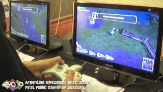Bunch of heroes gameplay EVA 2010  HD