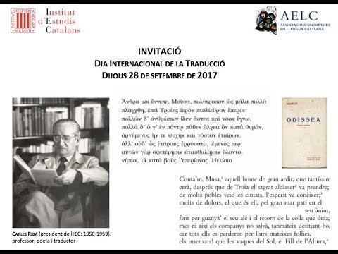 Dia Internacional de la Traducció 2017