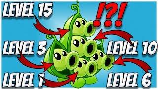 Plants vs Zombies 2 Epic HACK - Peapod's 5 Level of Comparison!
